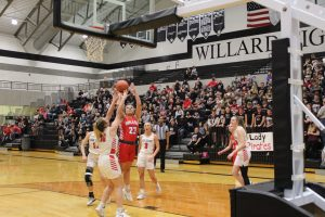 MILLER LADY CARDINALS TAKE HARD FOUGHT SECTIONAL BATTLE WITH ASH GROVE